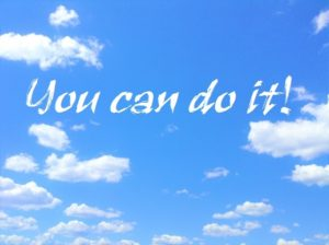 you can do itの文字列画像